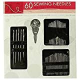 Sewing Essentials, 60 Needles and Needle-threader, Sewing Kit Set
