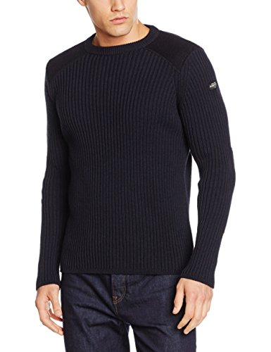 Schott NYC Yank1, Felpa Uomo, Blu ( Navy ), Medium