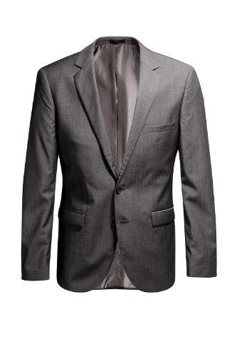 Esprit Men's Two-Piece Suit  Graphite S