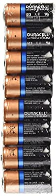 Duracell DL123 Ultra 3 Volt Lithium 123 Battery