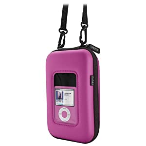 iHome iHM4 Portable Speaker Case for iPod, iPhone, and MP3 Players (Pink)