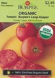 Burpee Tomato Burpee's Long-Keeper 67576 25 Organic Seeds