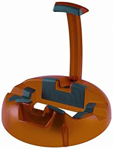 k m guitar stand big foot 17530 orange finish guitars accessories stands and foot stools amazon. Black Bedroom Furniture Sets. Home Design Ideas