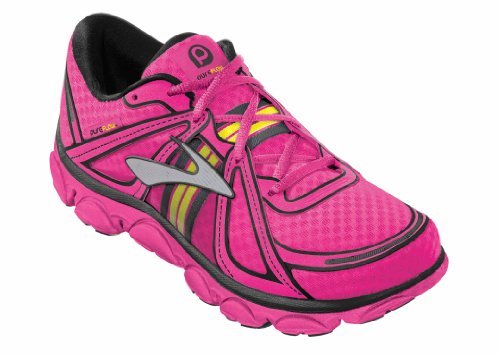 f336e8cf750 Brooks Kids PureFlow Running Shoes Color  KnockoutPink PinkGlo Black Size   5.5