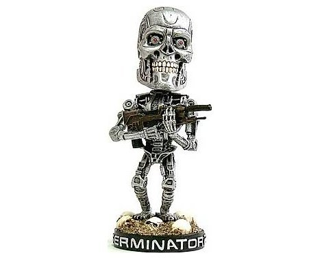 NECA Terminator Endoskeleton Head Knocker neca kontra bill