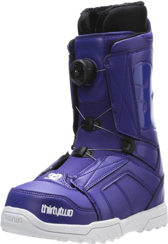 thirtytwo Women's STW BOA 13 Inch SnowBOArd Boot,Purple,6.5 D US