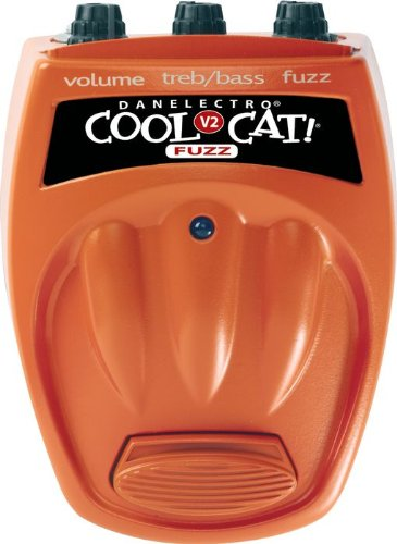 Danelectro CF2 Cool Cat Fuzz V2 Pedal