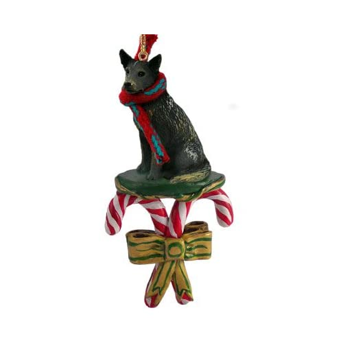 Amazon.com - Australian Cattle Dog BLUE HEELER CANDY CANE Christmas