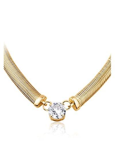 Dyrberg/Kern Collar Trisolia Sg Crystal Dorado