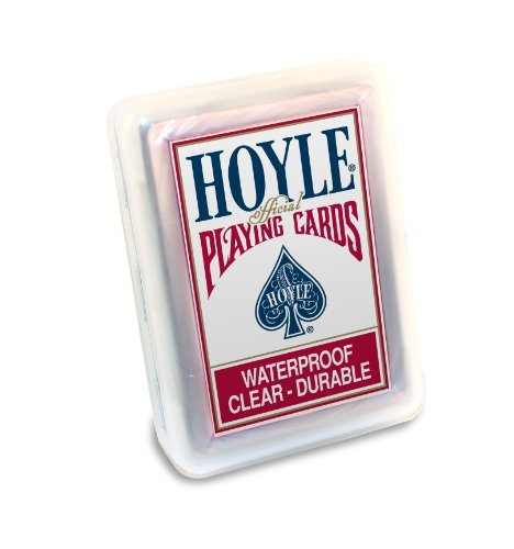 Hoyle Clear Plastic Playing Cards - 1