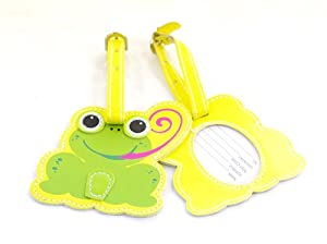 Childrens Frog Luggage Tag by iOSSS