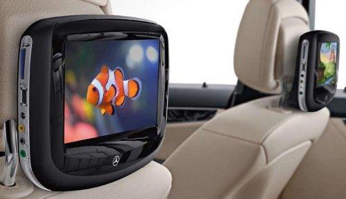 Mercedes benz genuine oem factory rear seat dvd for Mercedes benz rear seat entertainment system