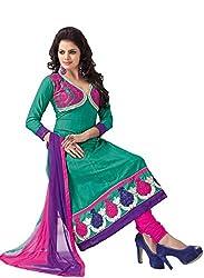 Soru Fashion Women's Cotton Dress Material (Shiv-1111_MultiColor_Free Size)