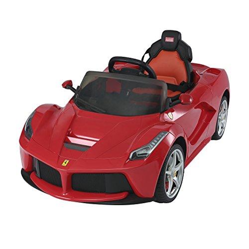 Aosom-12V-Ferrari-LaFerrari-Kids-Electric-Ride-On-Car-with-MP3-and-Remote-Control-Red