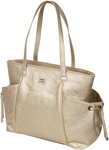 The Bumble Collection Embossed Tote - Gold - 1