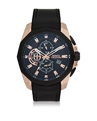 Sergio Tacchini Reloj de cuarzo Man Negro 47 mm