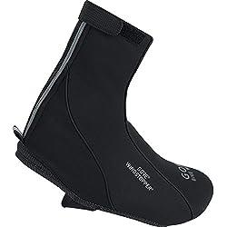 GORE BIKE WEAR Road Windstopper Soft Shell Termo - Botin de ciclismo, color negro, talla 42-44