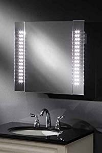 illuminated bathroom mirror cabinet ip44 photonic