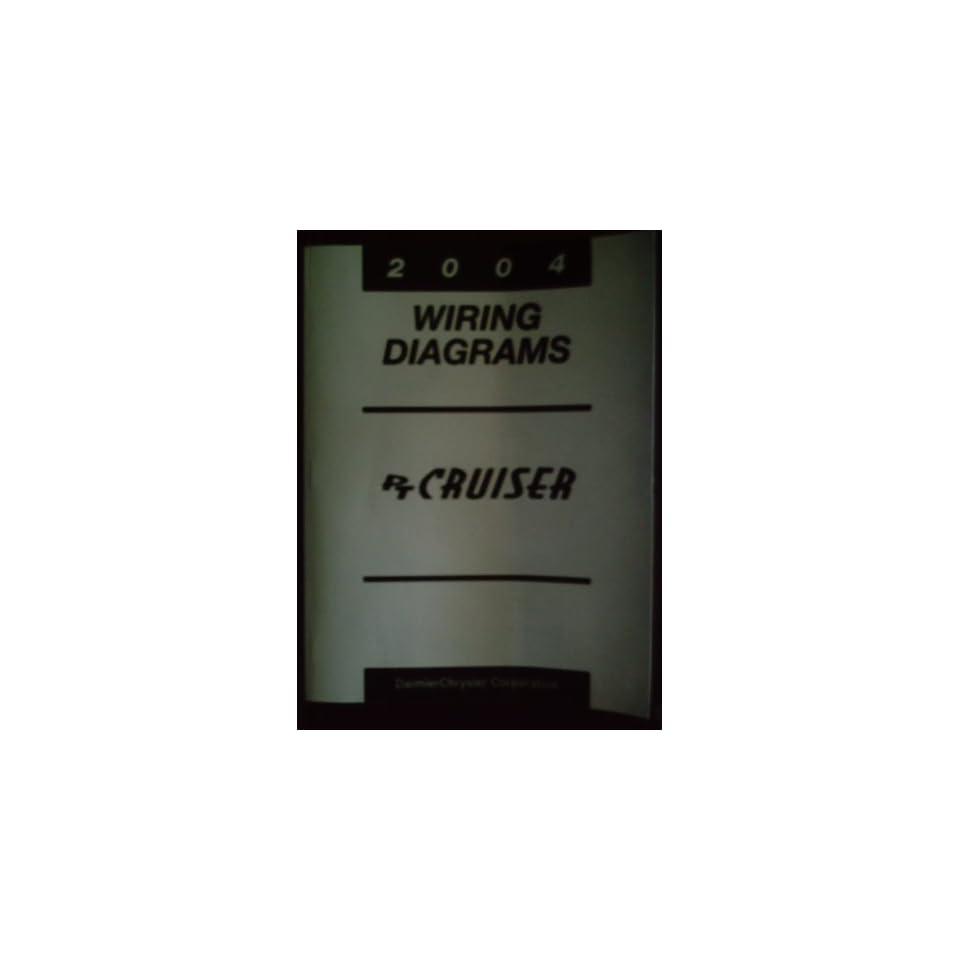 2004 Pt Cruiser Wiring Diagrams  Manual Number 81 370