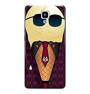 The Fappy Store ice-cream dude plastic back cover for Xiaomi redmi mi 4
