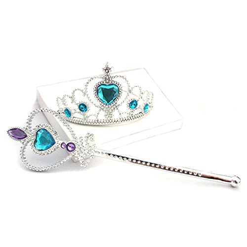 Crown and Wand Halloween Costume Accessories