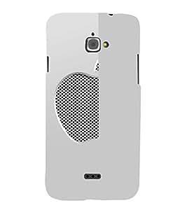 EPICCASE Half Net Apple Mobile Back Case Cover For InFocus M350 (Designer Case)