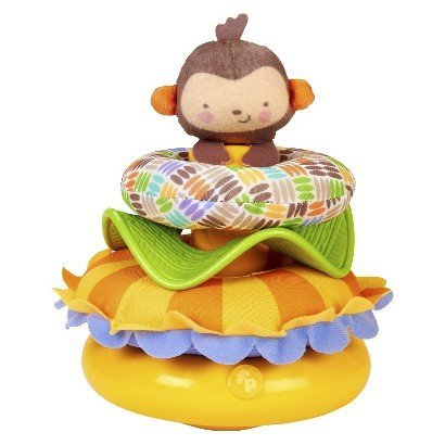 Fisher-Price My Little SnugaMonkey Activity Stacker - 1