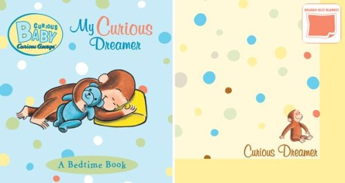 Curious Baby My Curious Dreamer Gift Set (Curious George Book & Blankie) (Curious Baby Curious George)