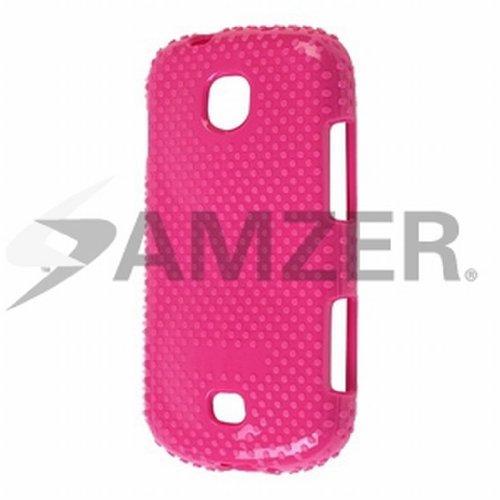 Amzer AMZ95006 Dura Hybrid Skin Case Cover for Samsung Galaxy Stellar SCH-I200 - 1 Pack - Retail Packaging - Pink