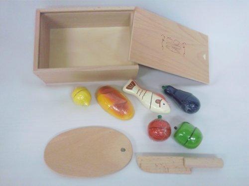 木製おもちゃのだいわ 包丁屋さん Aセット