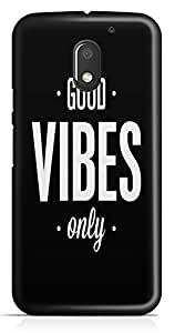 Moto E3 Back Cover by Vcrome,Premium Quality Designer Printed Lightweight Slim Fit Matte Finish Hard Case Back Cover for Moto E3