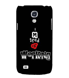 PRINTSWAG QUOTE Designer Back Cover Case for SAMSUNG GALAXY S4 MINI
