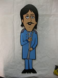Lawn Art Figure Paul Mccartney In The Sgt Peppers Outfit