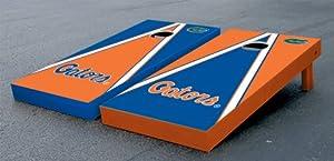 Florida UF Gators Cornhole Game Set Alt Triangle Script Version Corn Hole by Gameday Cornhole