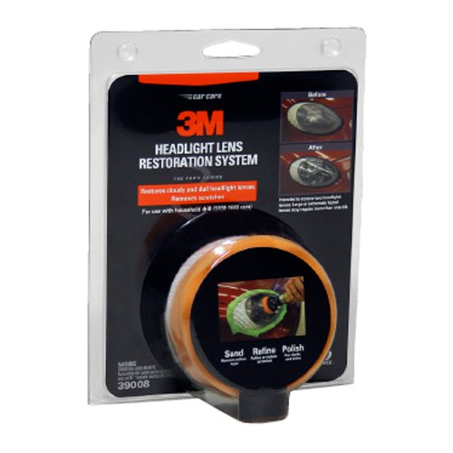 3M Headlight Restoration Kit to Restore Dull/ Faded/ Discoloured Headlights