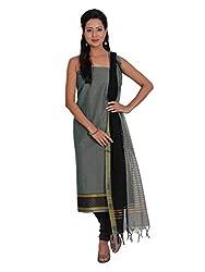 Platinum Present Cotton Women's Salwar Suit Dress Material stripes without Border