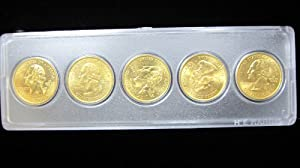 1999 24K Gold Plated State Quarters