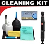 Lenspen Lens Cleaning System + Hurricane Blower + Deluxe 5-Piece Cleaning Kit For The Panasonic Lumix DMC-ZS8, ZS10, TZ18, TZ20 Digital Camera