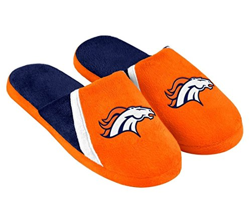 Denver Broncos Slippers, Broncos Slippers, Bronco Slippers, Denver ...