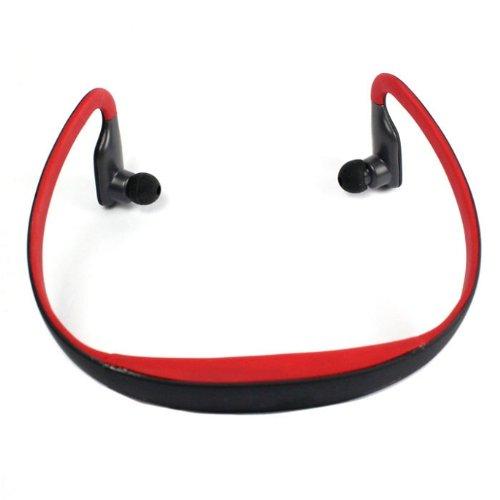 Kgend Bluetooth Headphones Headset Handsfree Wireless Stereo With Mic For Running Iphone 4,Iphone 5,Ipad 4,Ipad Mini,Ipod,Macbook (Red)
