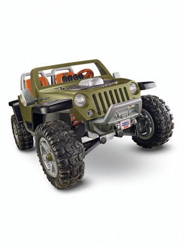 Power Wheels Ultimate Terrain Traction Jeep Hurricane