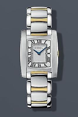 Ebel Womens Brasilia Gold and steel watch 1216067 by Ebel