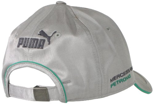 Puma men s mercedes gp lewis hamilton cap grey one size for Mercedes benz hat amazon
