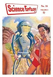 12 X 18 Stretched Canvas Poster Science Fantasy: Robot with Human Friends