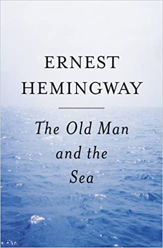 "Cover image for ""The Old Man and the Sea"""