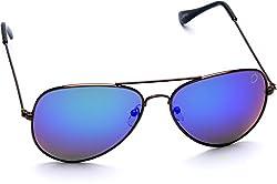 Optis Aviator Sunglasses (Brown Red) (SRSXC4L4)