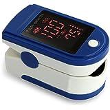 Augymer Generation 2 Pulse Oximeter Fingertip, Blood Oxygen Saturation Monitor Finger Pulse Oximetry Carry Case...