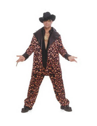 Big Daddy Inferno Lg Halloween Costume - Adult 42-44