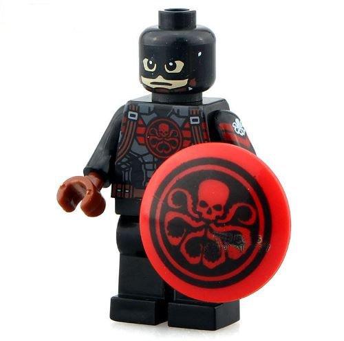 SingleSale (Captain FiguresHeroes) SuperHeroes Minifigure DIY Building Blocks Brinks Bricks Size4.5 (All Batman Characters)