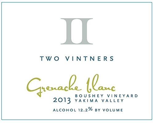 2013 Two Vintners Boushey Vineyard Grenache Blanc 750 Ml